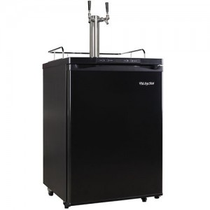 Edgestar Full Size Dual Tap Kegerator with Digital Display