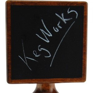 Chalkboard Tap Handle 2