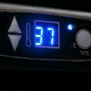 Danby DBF163BL-1 Controls
